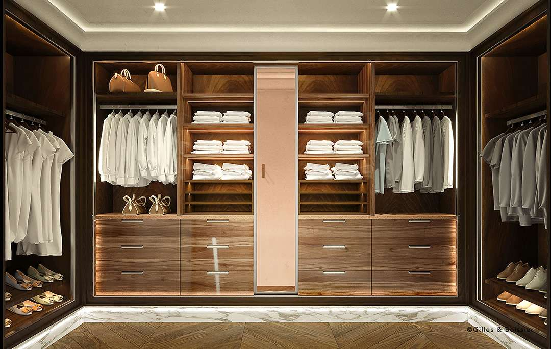 Presidential Suite Walk-in Closet